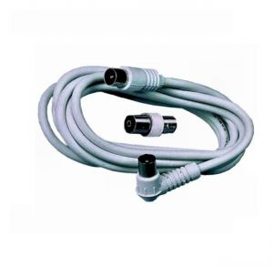 CAVO TV 2M 1 SPINA 1D ANGOLO ED 1 SPINA IN LINEA